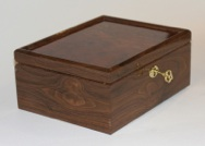 Walnut and Carpathian Elm Heirloom Box